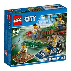 Lego 60066 - City : Ensemble de démarrage de la police des marais