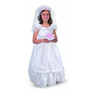 Melissa & Doug Déguisement robe de mariée (3-6 ans)