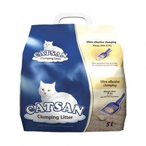 Catsan Litière Ultra agglomérant 5L