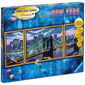 Ravensburger Peinture au numéro - Triptyque : Skyline de New York