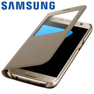 Samsung S View Cover - Etui pour Galaxy S7