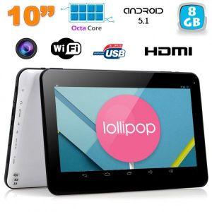 """Yonis Tablette tactile 10"""" 8Go Octa Core sous Android Lollipop 5.1"""