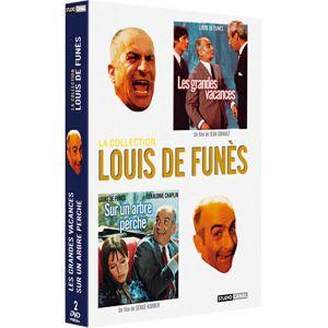 Coffret Louis de Funes - Les grandes vacances + Sur un arbre perché