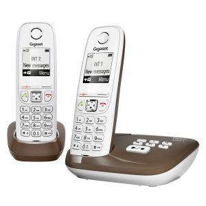 Gigaset AS405A Duo - Téléphone sans fil avec répondeur