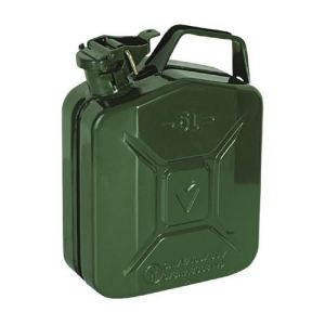 Ribimex PRJE10METAL - Jerrican en metal 10 litres