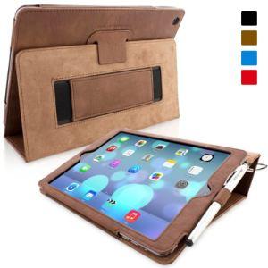 Snugg Etui en cuir pour iPad Air