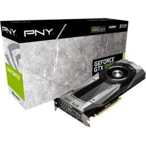 PNY GF1080GTX8GEPB - Carte Graphique GeForce GTX 1080 Founders Edition 8 Go