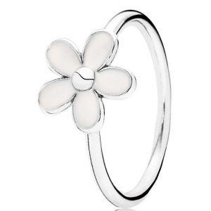 Pandora 190899EN12 - Bague en argent fleur blanche pour femme