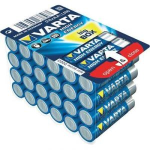 Varta 24 Piles Bigbox High Energy AA