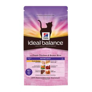 Hill's Ideal Balance Feline Mature Adult Poulet & Riz 2 kg