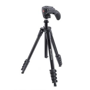 Manfrotto Kit trépied compact action + rotule joystick