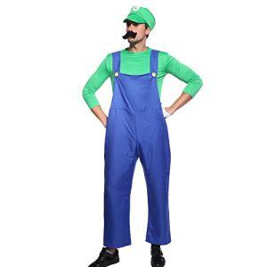Déguisement Super Luigi Mario