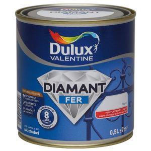 Dulux valentine peinture diamant fer 0 5 litre comparer for Prix peinture dulux valentine