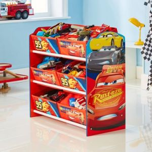Room Studio Rangement 6 bacs Disney Cars