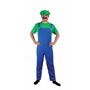 Ptit Clown Déguisement plombier Luigi