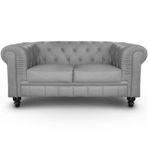 Menzzo Canapé Chesterfield classic-chic 2 places