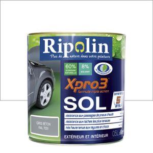 Ripolin Peinture Xpro3 Sol 0,5 litre
