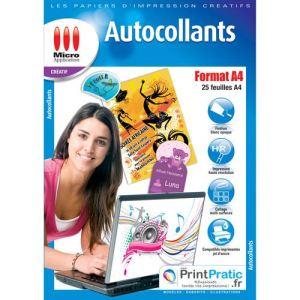 Papier a4 autocollant comparer 196 offres - Papier autocollant exterieur ...
