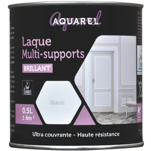 Reca Peinture Aquarel laque Multi-supports brillante 0,5 L