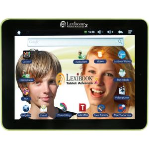 "Lexibook Tablet Advance 2 (MFC181FR) - Tablette tactile multimédia 8"" sous Android 4.1"