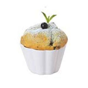 Pillivuyt 284808bl1 - 6 moules à muffin (8,1 cm)