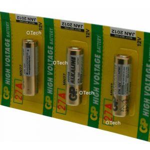 GP Pack de 5 piles 27A (8LR50)