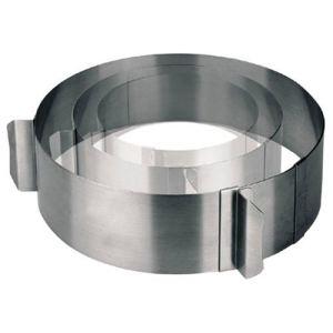 Lacor 68200 - Emporte-pièces cercle extensible en inox (16 à 30 cm)