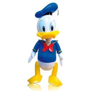 Partner jouet Poupée gonflable Donald Duck (52 cm)