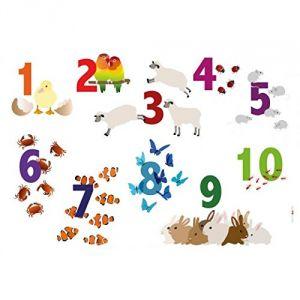 Chiffres - Set de table pour enfant (31 x 43 cm)