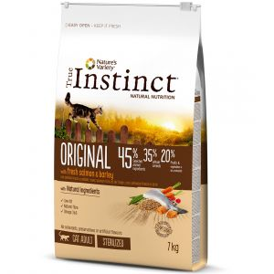 True instinct Original Sterilized Adult Salmon - Sac 1.25 kg
