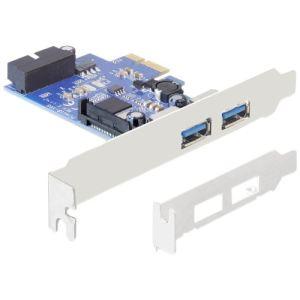 Delock 89315 - Adaptateur Express Card PCIe USB 3.0 2 ports