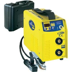 GYS GYSMI E200 FV - Poste de soudure à l'électrode avec valise et accessoires (031210)