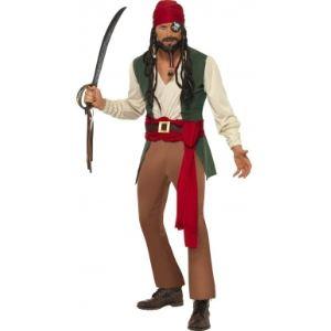 Déguisement pirate du Pacifique homme (taille M)