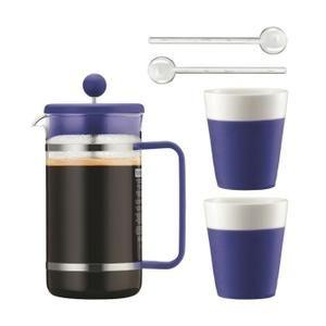 Bodum Bistro Set - Cafetière 1 L + 2 tasses + 2 mélangeurs