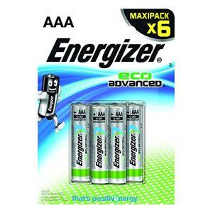 Energizer 6 piles AAA LR03 EcoAdvanced