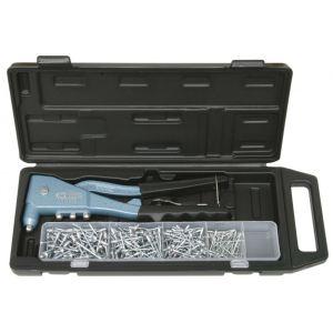 KS Tools 150.9520 - Coffret de pince à rivets + assortiment de rivets