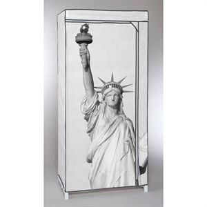 Cie europe Penderie New-York en métal