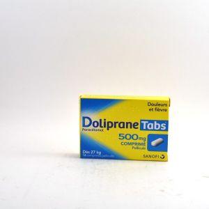 Sanofi Doliprane Tabs 500 mg - 16 Comprimés Pelliculés