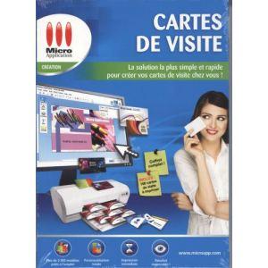 micro application pour cartes de visite comparer 12 offres. Black Bedroom Furniture Sets. Home Design Ideas