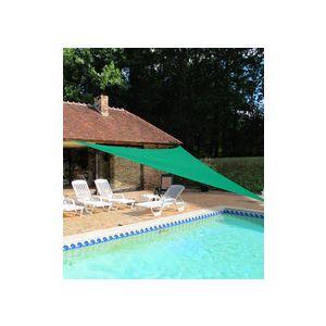 Ideanature Voile d'ombrage triangulaire 5 x 5 x 5 m