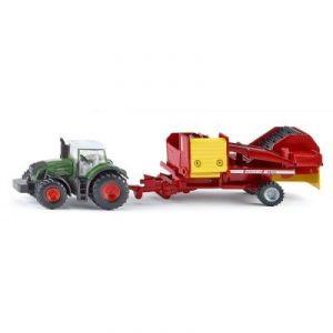 Siku Tracteur avec récolteuse de pommes de terre