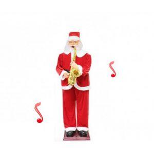 Fomax Père Noël automate qui joue du saxophone (1m80)