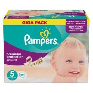 Pampers Active Fit taille 5 (11-25 kg) - 92 couches