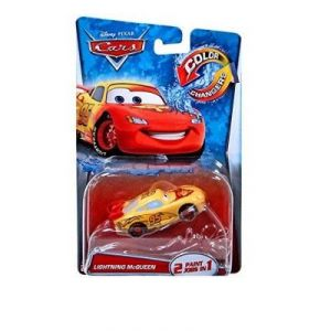 Mattel Voiture Disney Cars Color Changers : Lightning McQueen