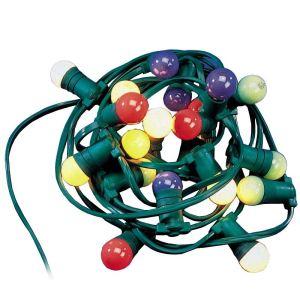 Tibelec Guirlande décoratives  10 ampoules 10 m