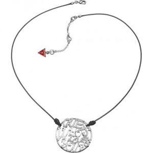 Guess Ubn12201 - Collier pour femme en métal argenté