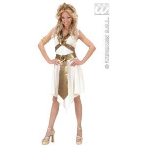 Déguisement déesse romaine robe blanche (taille L)