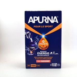 Apurna Boisson énergie Antioxydante Agrumes x10 Sticks