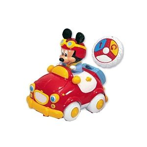 Clementoni La voiture radio commandée de Mickey