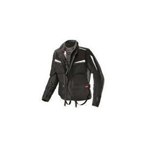 Spidi Netforce (noir) - Blouson de moto textile waterproof pour homme